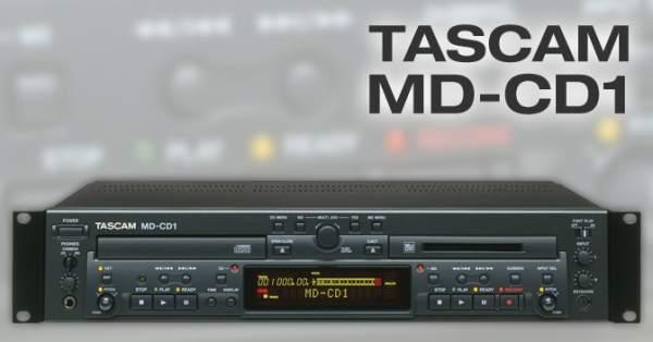 Đầu đĩa Tascam MD-CD1