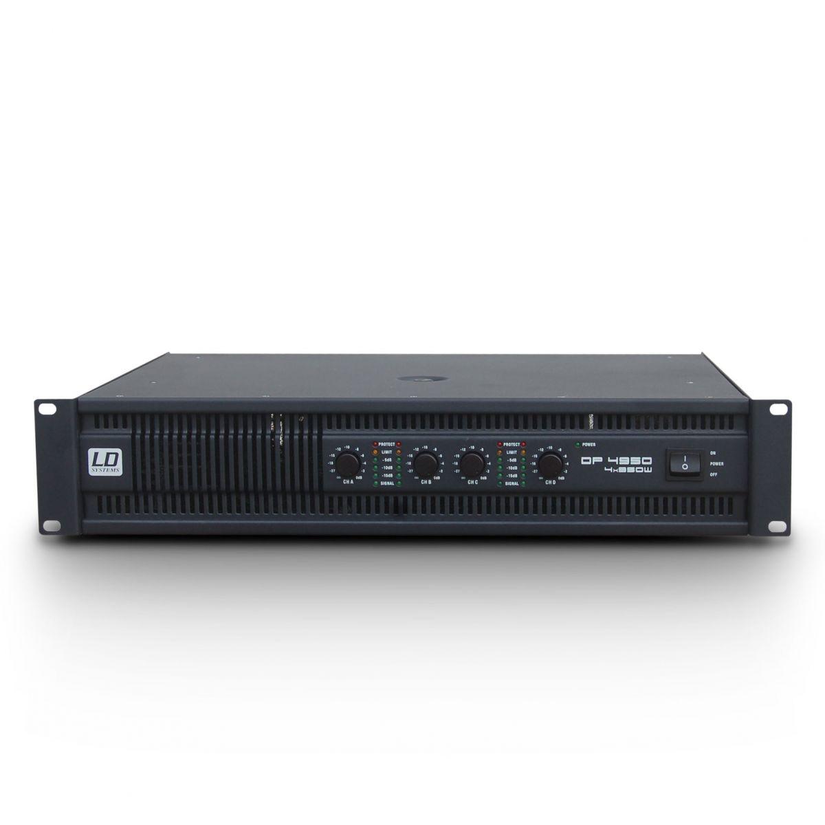 Âm ly 4 kênh chuyên dụng cho PA,  Karaoke - Deep 2 4950 - LD Systems