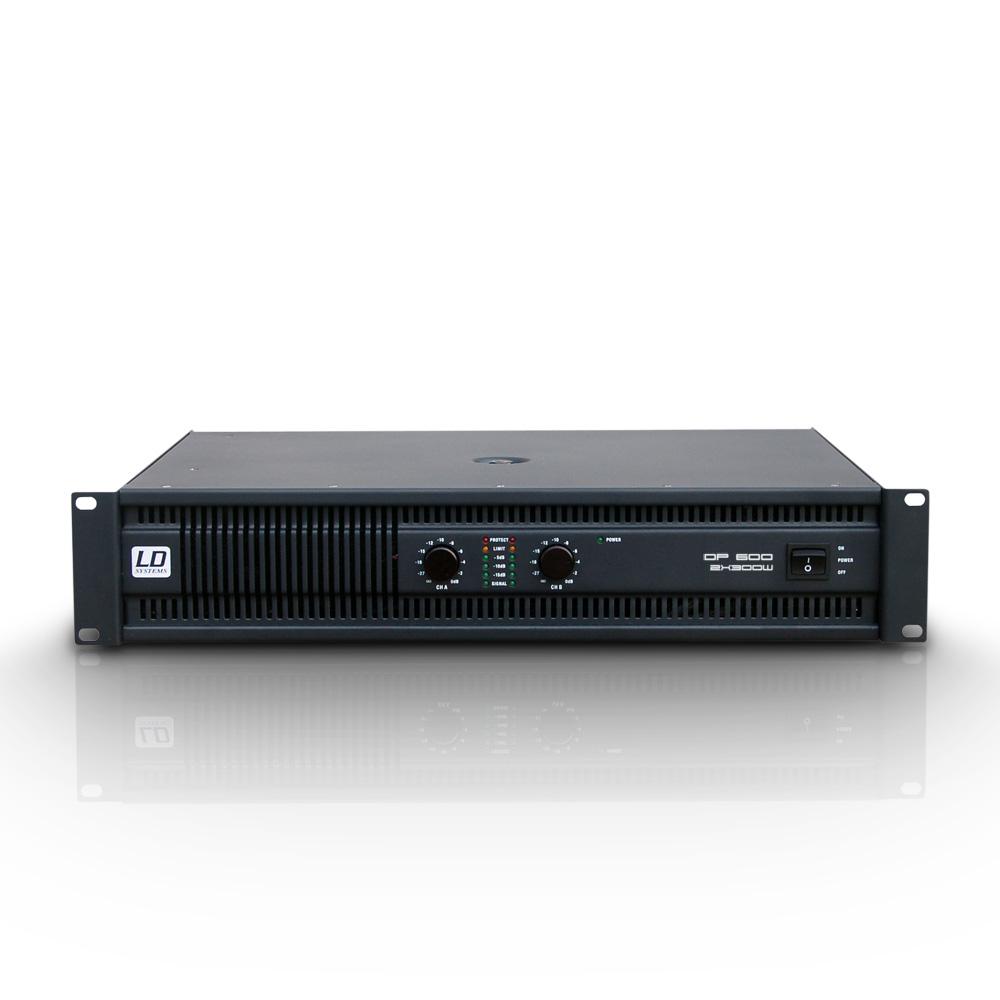 Âm ly 2 kênh chuyên dụng cho Karaoke - Deep2 600 - LD Systems