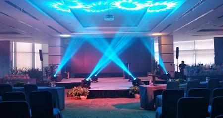 Hệ thống âm thanh biểu diễn cao cấp CURV 500 TS được lắp đặt tại khách sạn 5 sao Malibu - Vũng Tàu