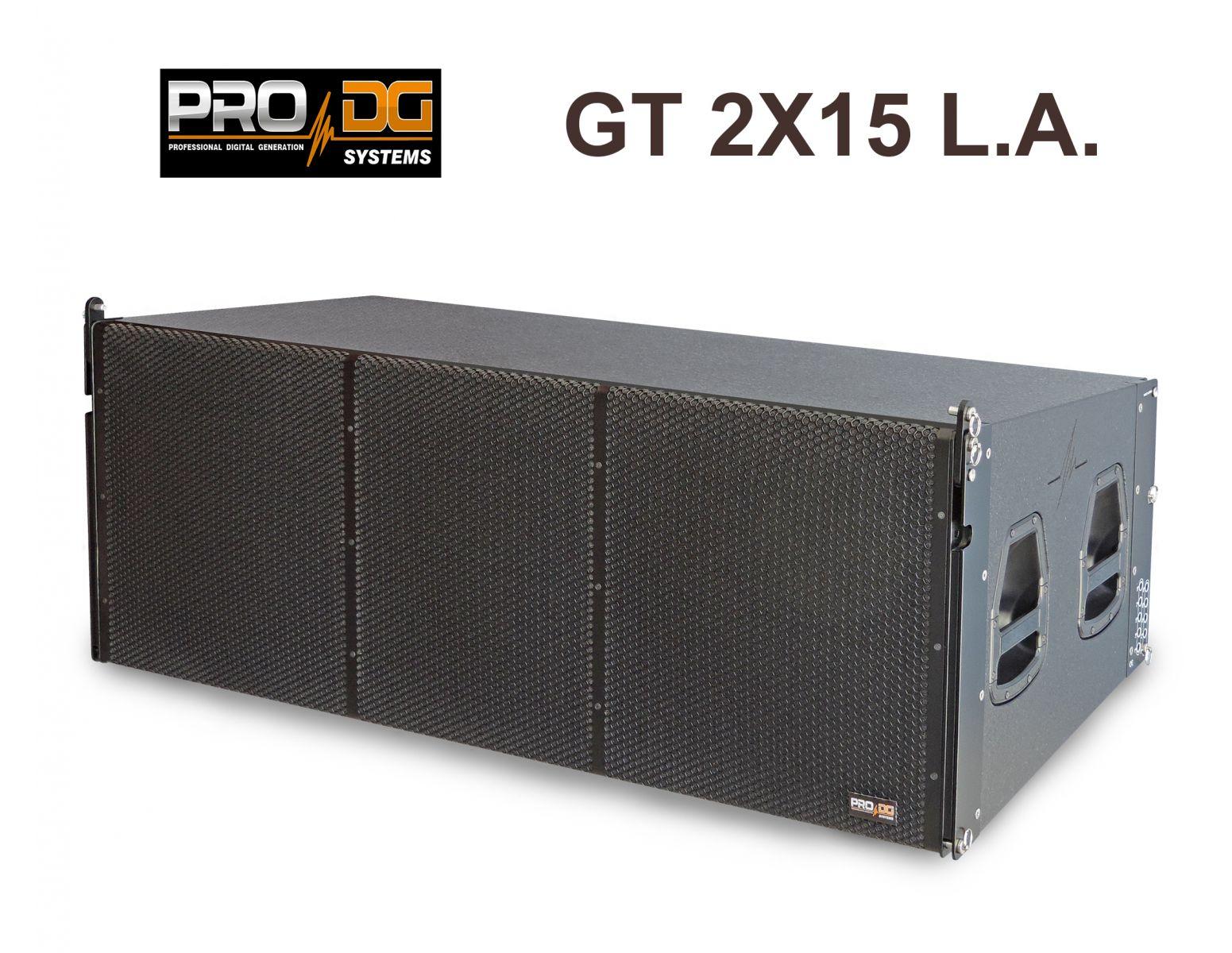LOA PASSIVE LINE ARRAY 3-WAY GT 2x15 LA (PRO DG – TÂY BAN NHA)