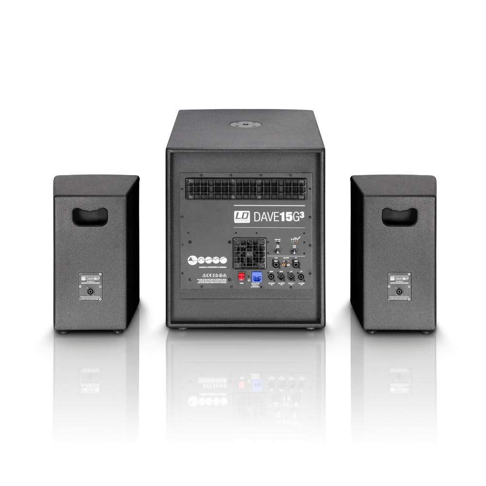 Hệ thống PA đa năng DAVE 15 G3 - LD Systems