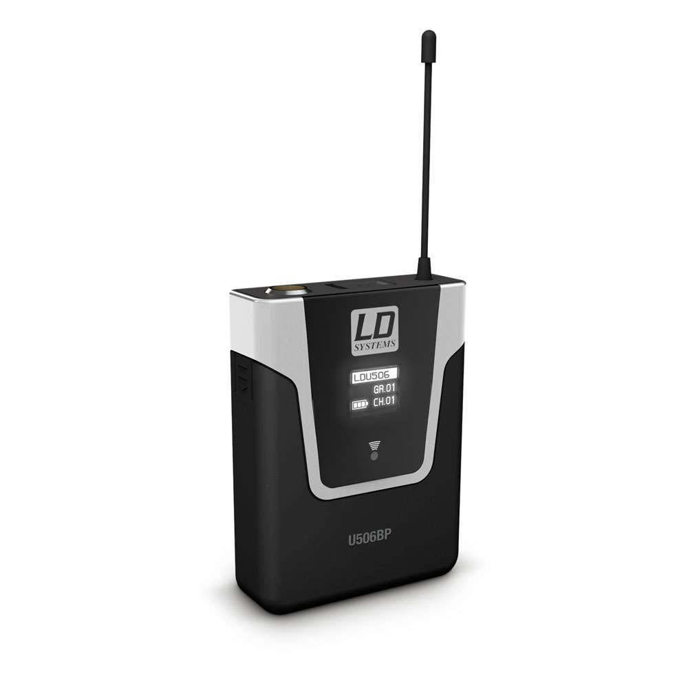 Micro không dây cài đầu U 506 BPH 2 - LD Systems
