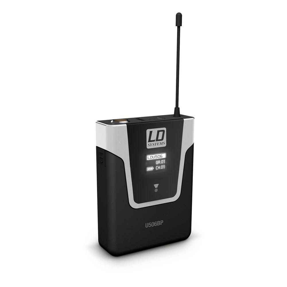 Micro không dây cài đầu U 506 BPH - LD Systems
