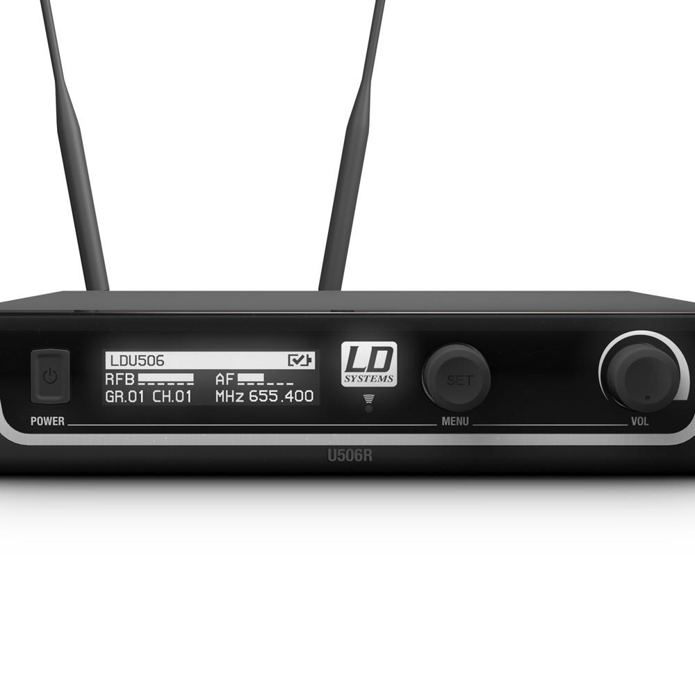 Hệ thống micro điện dung không dây cầm tay U506 HHC - LD Systems