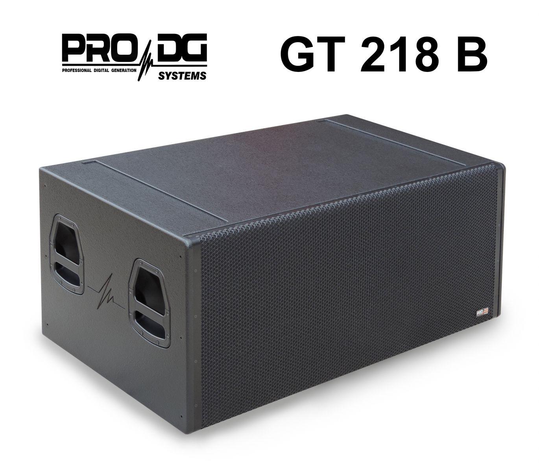 LOA SIÊU TRẦM BASS ĐÔI 18 INCH PRO DG SYSTEMS GT 218 B