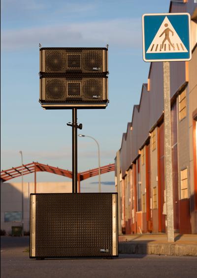 LOA SIÊU TRẦM LIỀN CÔNG SUẤT GTA 118 B PRO DG SYSTEMS - SPAIN
