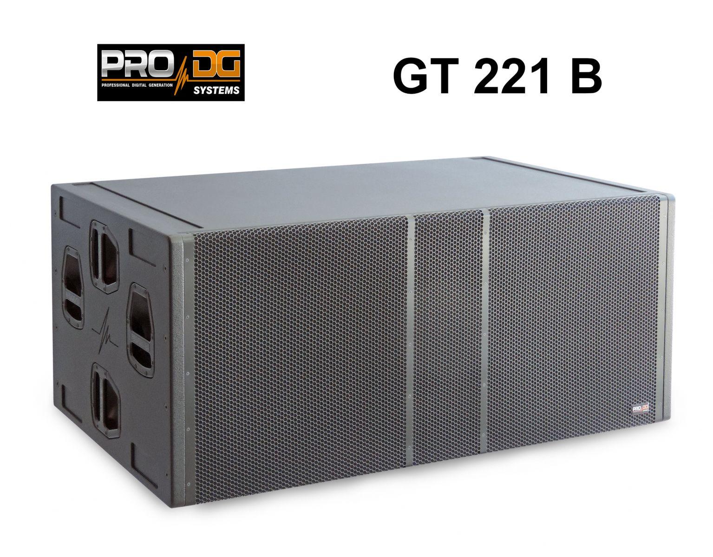 LOA SIÊU TRẦM PASSIVE  BASS ĐÔI 21 INCH PPO DG SYSTEMS GT 221 B