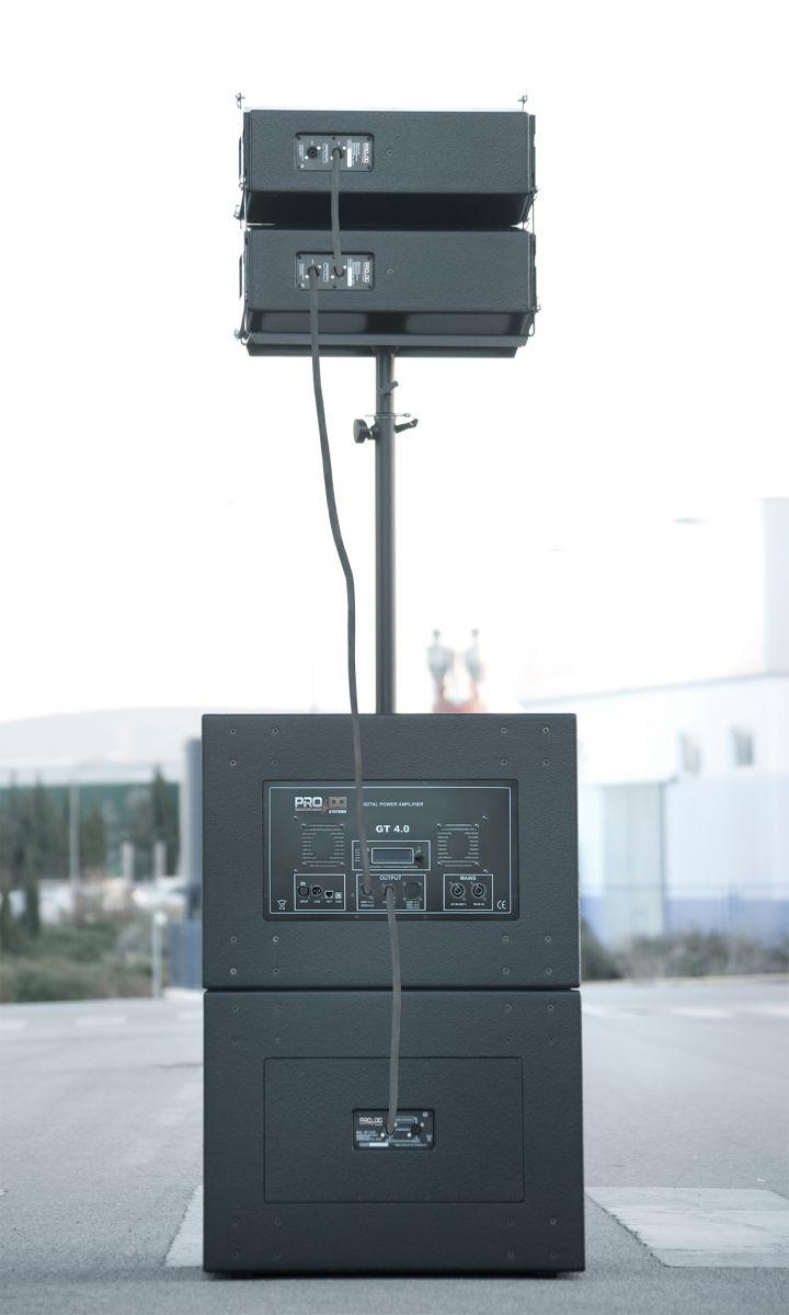 LOA SIÊU TRẦM LIỀN CÔNG SUẤT PRO DG SYSTEMS GTA 118 B SW