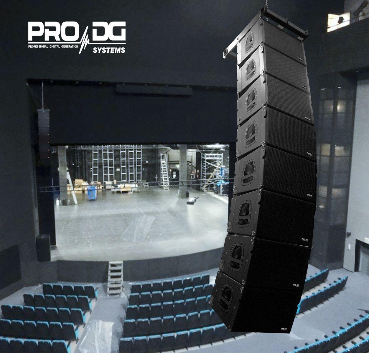 LOA PASSIVE LINE ARRAY PRO DG SYSTEMS - GT 1x12 LA (PRO DG - SPAIN )