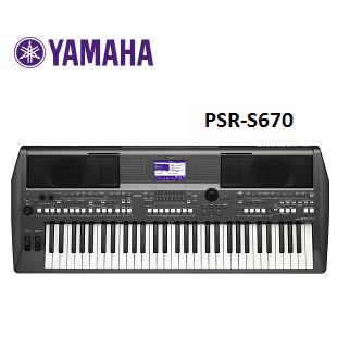 YAMAHA KEYBOARD PSR-S670